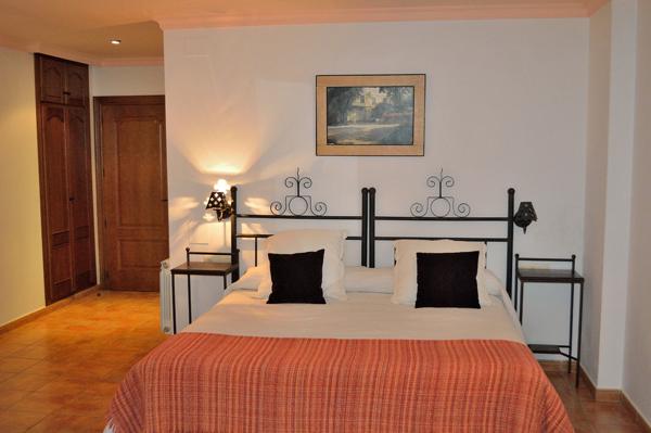 habitacion superior hotel en capileira
