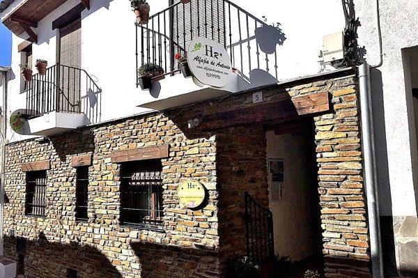 hotel rural con escanto en capileira alfajia