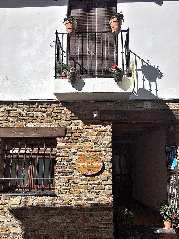 hotel rural en capileira con encanto