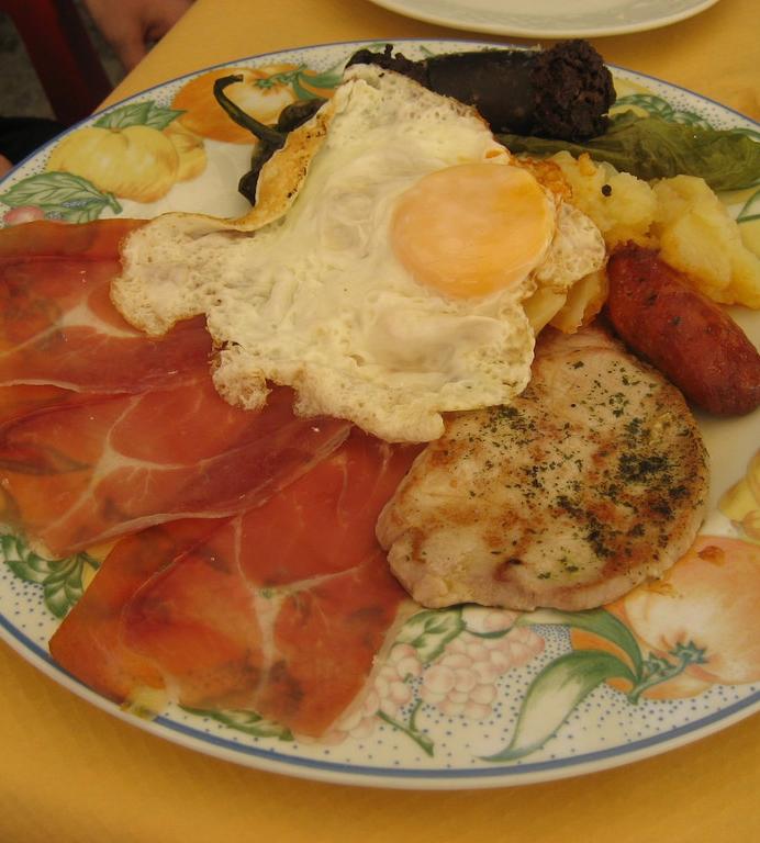 gastronomia turismo rural en la alpujarra
