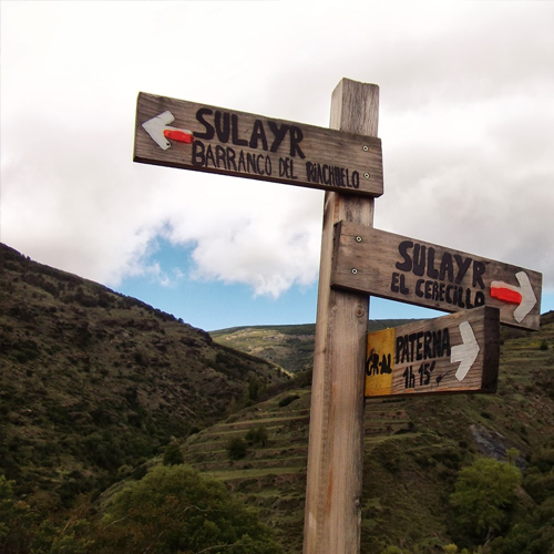 turismo capileira sendero sulayr