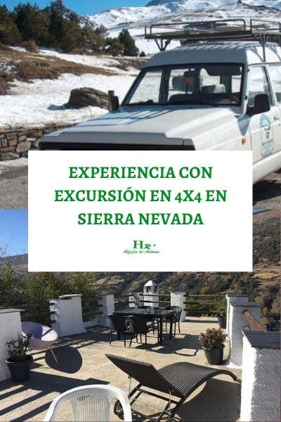 Experiencia Con Excursión En 4×4 Por Sierra Nevada